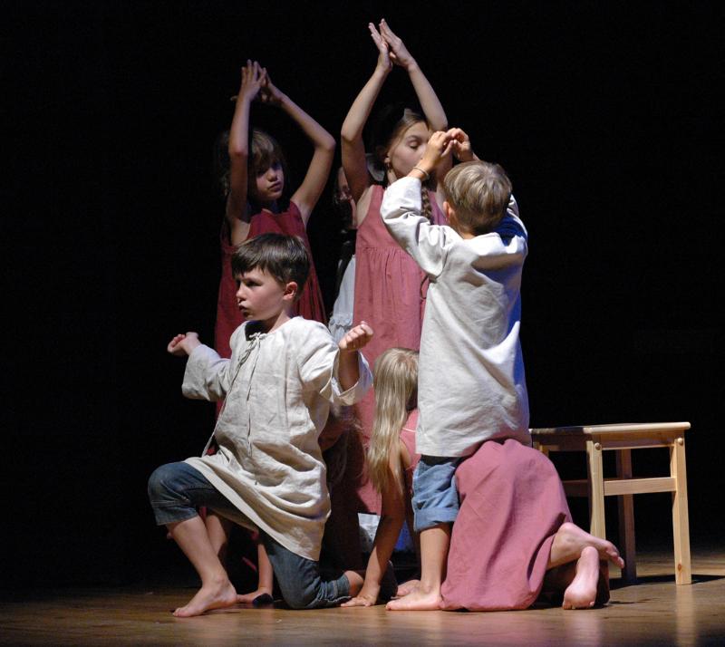 Celostátní Přehlídka Dětská Scéna Svitavy 2014