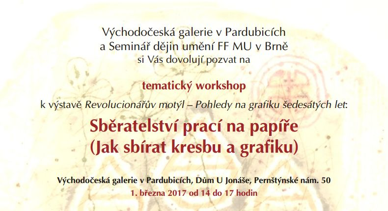 Workshop Sberatelstvi Kresby A Grafiky Mistni Kultura